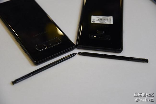 三星Galaxy Note9与三星Note8外观对比简析