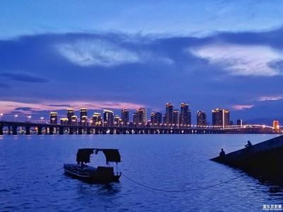 【厦门】黄昏的海港