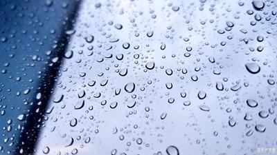 雨滴之安静的美