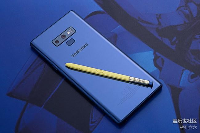 三分钟爱上手写笔 三星Galaxy Note9图赏