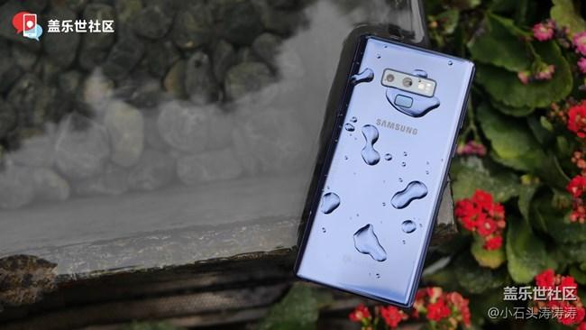"""【图赏】当三星Galaxy Note9 """"邂逅""""水以后"""