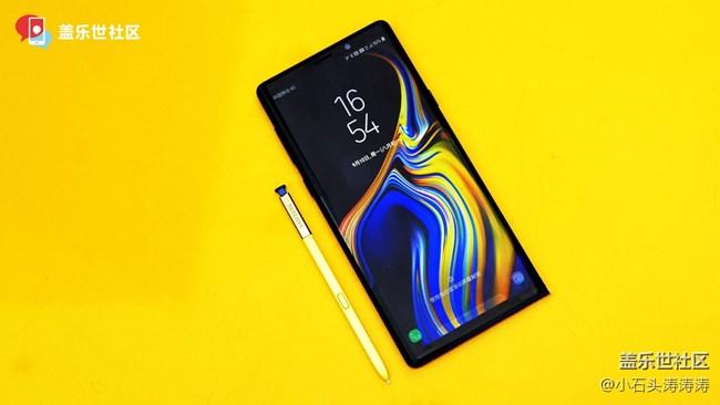 黄金笔S Pen与寒霜蓝的碰撞 Galaxy Note9美图赏