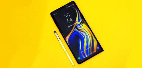 云雀黄S Pen与寒霜蓝的碰撞 Galaxy Note9美图赏
