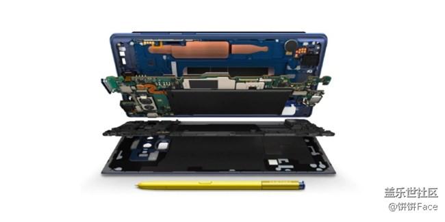 Galaxy Note9的水碳冷却系统诞生记