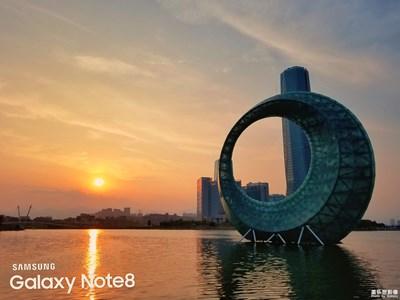 日落杏林湾