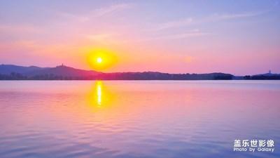 【石湖夕阳】