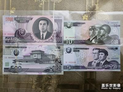朝鲜的纸币