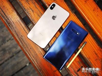 当Galaxy Note9与iPhone Xs Max在末秋邂逅