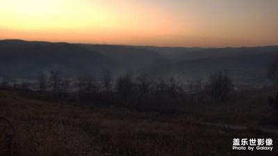 【百变天气】+山村的清晨与黄昏