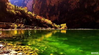 再选了几张太行山大峡谷的片子,分享给大家