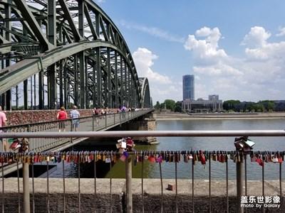 科隆游记之霍亨索伦桥