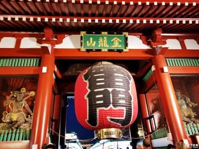 【纬度的色彩】+ 日本浅草寺