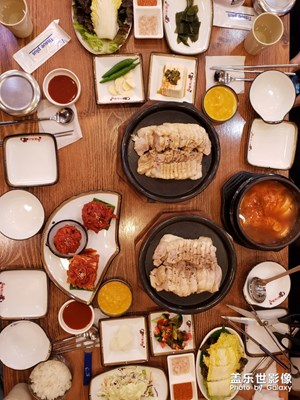 首尔风景(今天中午吃的饮食)