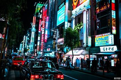 【Tokyo Cold系列】日本东京之夜新桥随拍