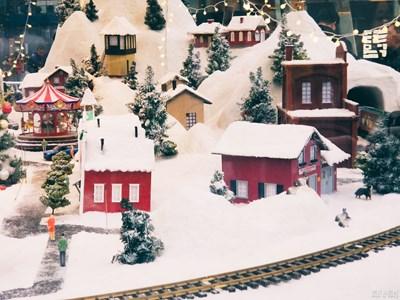 童话中的雪景