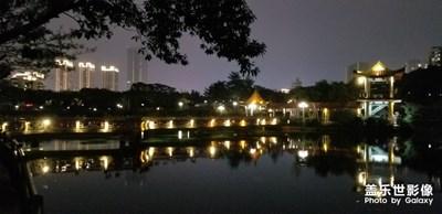晚饭后散步龙潭公园随拍