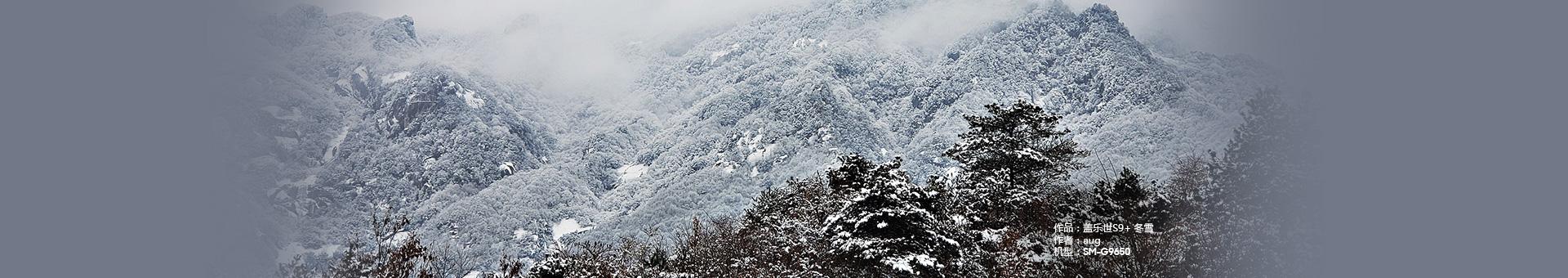 盖乐世S9+ 冬雪