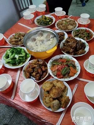 【新春年夜饭】+ 大伯家的家宴