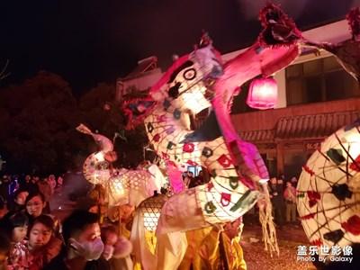 中国民俗舞龙灯