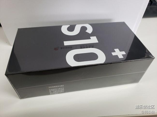 【开箱】Galaxy S10 +,白的纯净,金的耀眼