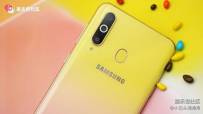 """糖果渐变""""有点芒"""" 三星Galaxy A8s新色美图赏"""