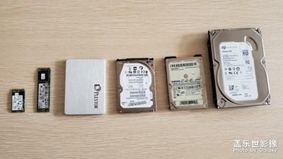 电脑硬盘进化史-记我用过的硬盘