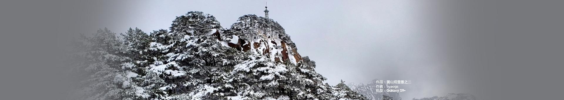 黄山观雪景之二