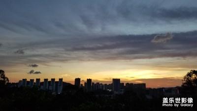 【美丽家园】+夕阳