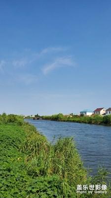 我的老家在一条大河边。