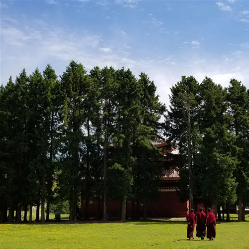 九色甘南-郎木寺