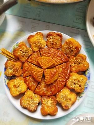 中秋节,吃月饼了