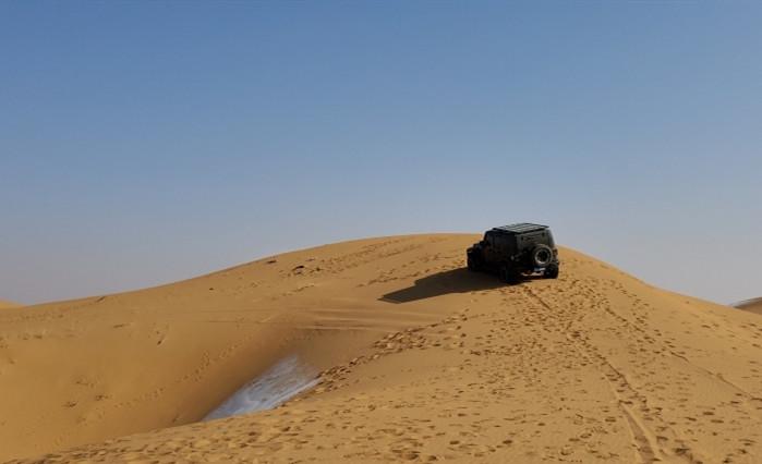电影《沙尘暴》 拍摄 的时候拍摄的照片