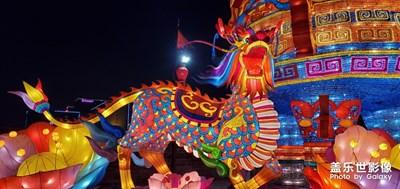 2020年西安城墙灯展