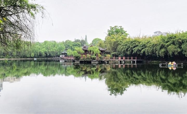 最美瞬间+棠湖公园