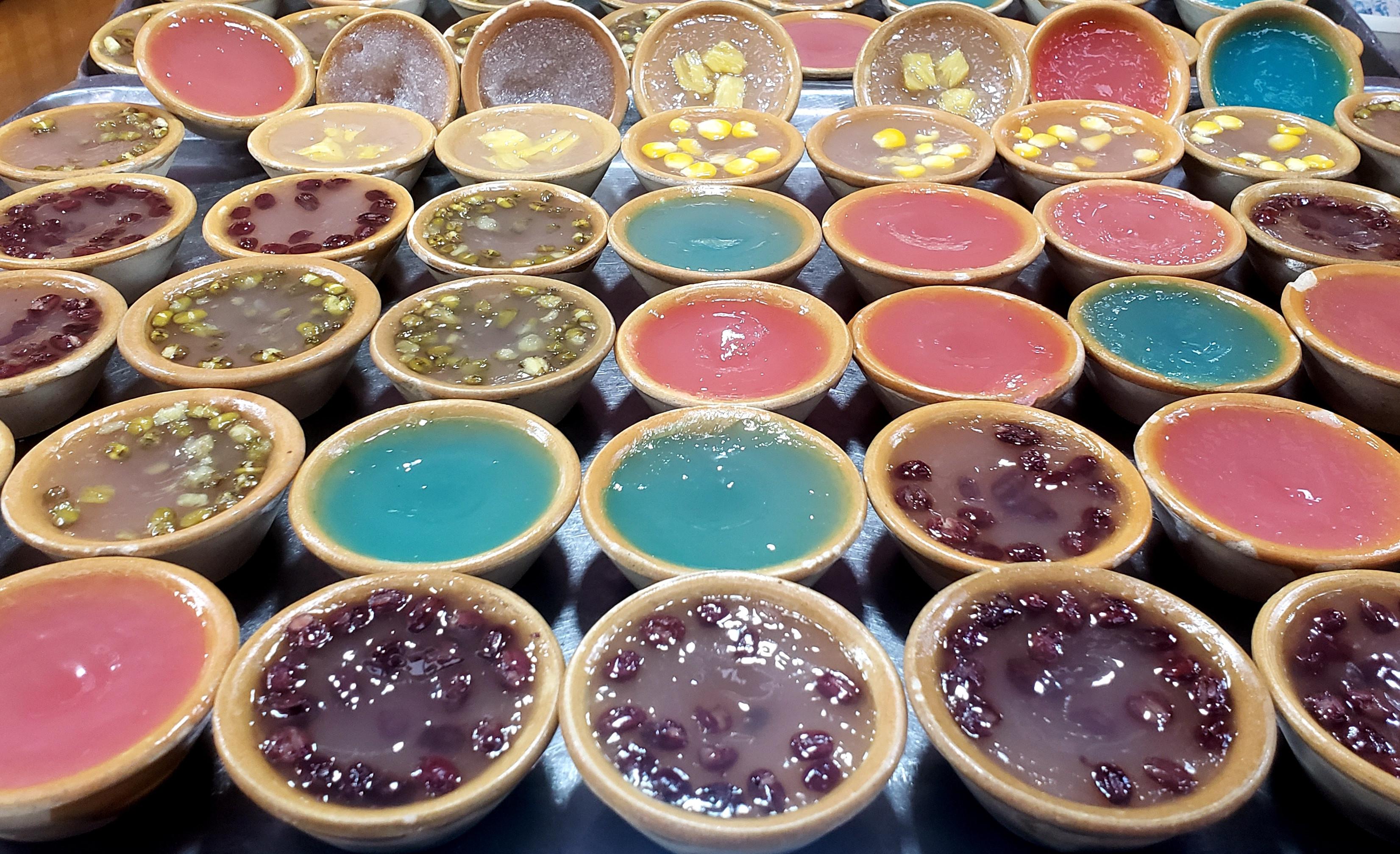 色彩与美味的碰撞----街拍中山路美食街之美食