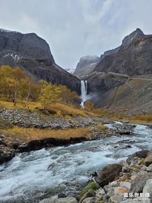大美长白山之长白瀑布