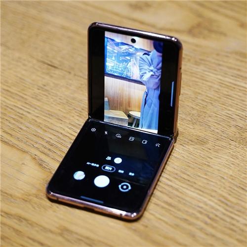 三星Galaxy Z Flip 5G : 自拍星人带你玩转自拍