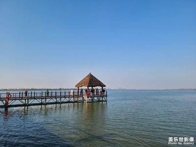 【精彩定格】+深秋的湖边