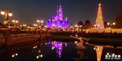 迪士尼乐园的圣诞