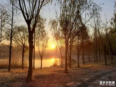 与美好相遇-晨冬