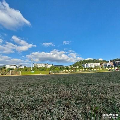 想念学校的足球场