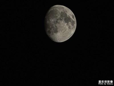 拍照菜鸟的月亮