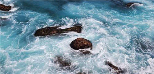 分界洲海浪