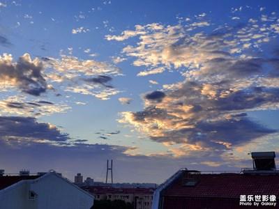 【天空的色彩】+魔都的多彩天空