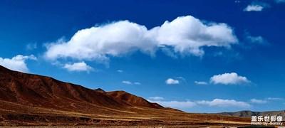 蓝天,白云