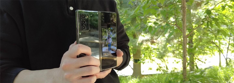 Galaxy Z Fold2 5G 双重预览 助你捕捉最美丽的瞬间