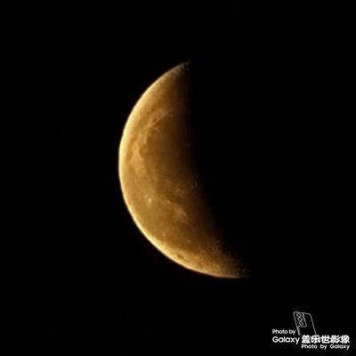 月全食+超级月亮🌙