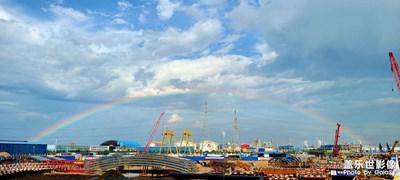 天空的微笑,气势如虹