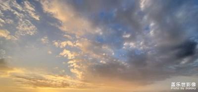 家乡的天空