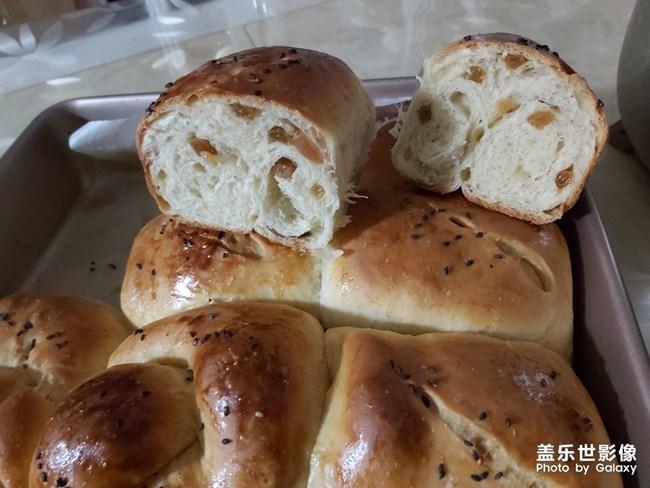 今天又做了面包
